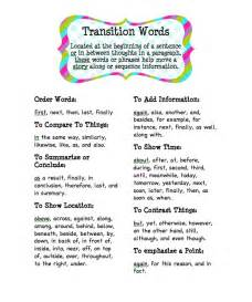 Transition Words For Argumentative Essays by Transition Words For A Argumentative Essay
