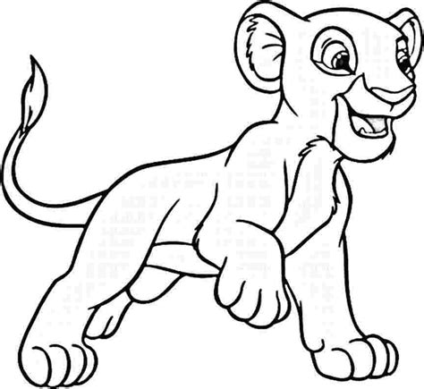 free coloring pages of kiara et kovu