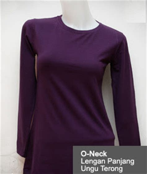 Murah Kaos Oblong Polos Lengan Pendek O Neck Unisex T Shirt o neck lengan panjang cewek 171 kaos polos kece murah