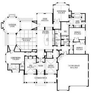 Rambler Floor Plan by Walkout Rambler Floor Plans Rambler Floor Plan 4 Bedrooms