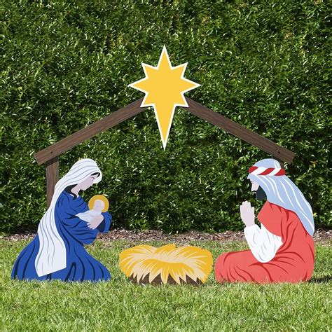 outdoor nativity store large classic nativity set holy