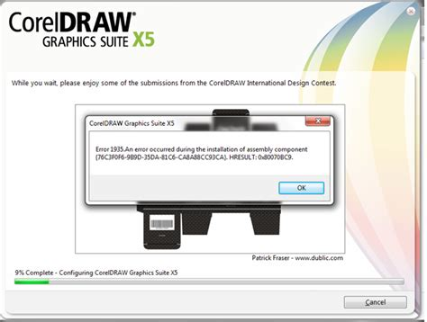 corel draw pdf file size installation error with download coreldraw x5