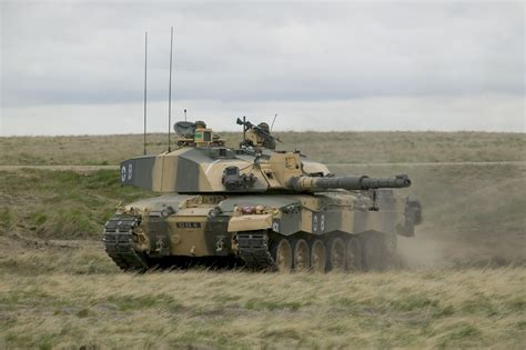 In Ex by File Exercise Medman In Batus Canada A Challenger Tank