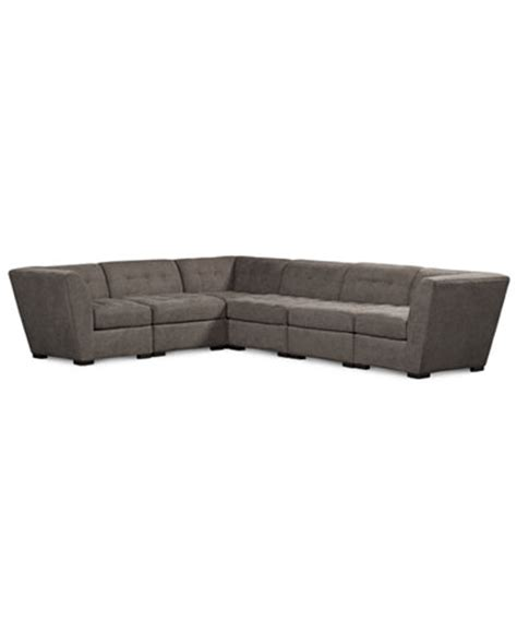 roxanne sofa macys roxanne fabric 6 piece modular sectional sofa created for