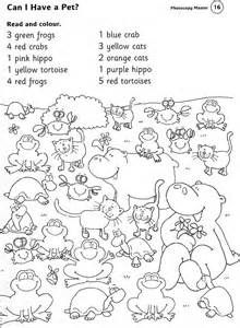 does la colors test on animals zoo worksheets animals worksheets read and colour june