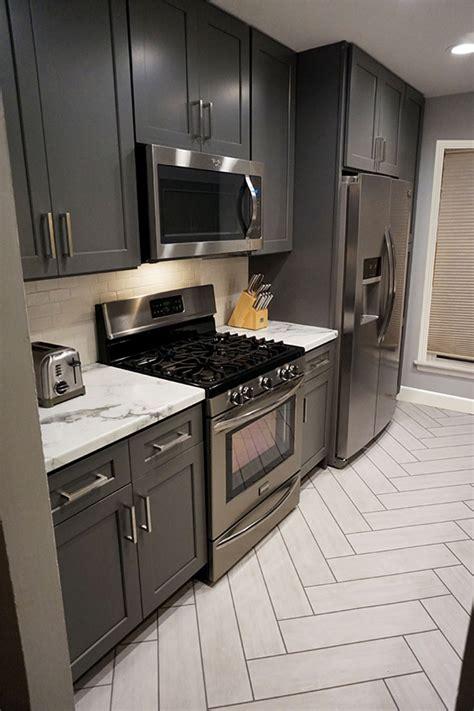 Buy Shaker Gray RTA (Ready to Assemble) Kitchen Cabinets