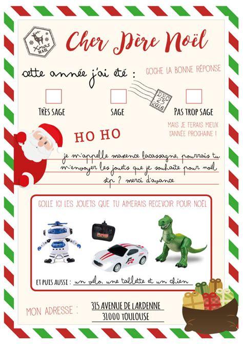 Exemple De Lettre Au Pere Noel Gratuit Lettre Au P 232 Re No 235 L 224 Imprimer Avec Enveloppe Pr 234 Te 224