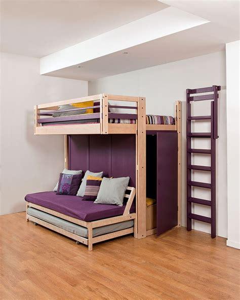 canapé lit pour studio les 25 meilleures id 233 es de la cat 233 gorie lit mezzanine