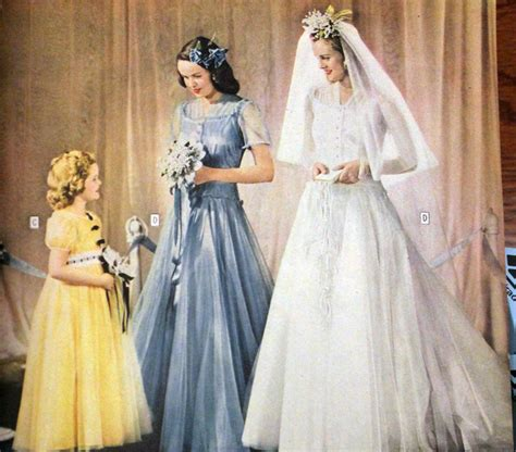 Wedding History by 1940s Style Wedding Dresses Shoes Accessories