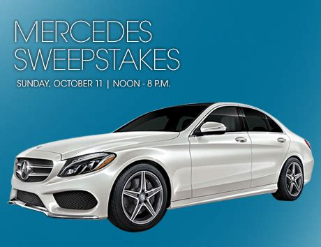 Mercedes Giveaway - mercedes sweepstakes 2015 autos post
