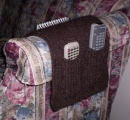 armchair caddy pattern chair caddy small pockets big pic gettin it pegged loom knitter s clique