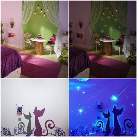 glow in the rooms glow in the paint and decals for your child s room