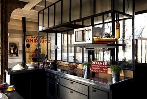 cuisine type industrielle r 201 alisation de ferronnerie et trappe de sol vitree