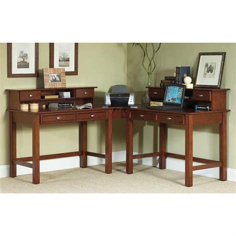 home styles hanover student desk corner wing 143087