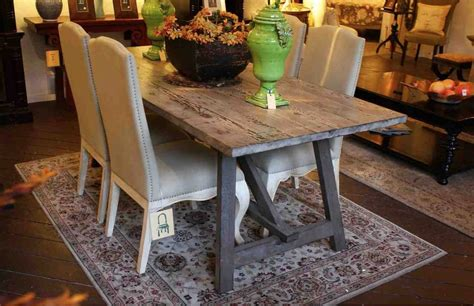 Rustic Gray Dining Room Table Dining Table Rustic Grey Dining Room Set Oak Table Wood Gray Igf Usa
