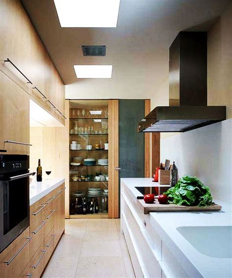 Modern cabinet design for small kitchen