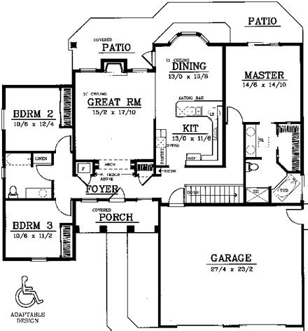 age in place house plans age in place home designs at familyhomeplans com at