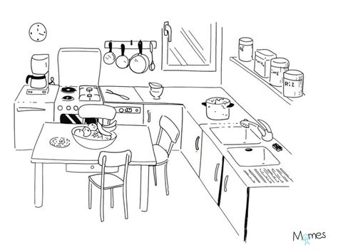 les jeux de la cuisine de coloriage cuisine de ma mamie momes