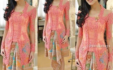 Kebaya Modern Untuk Wisuda Warna Pink | jenis kebaya modern atau hijab yang sering digunakan artis