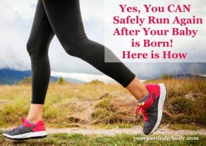 When Can I Start Running After Section by Don T Start Running After Pregnancy Until You Ve Read This