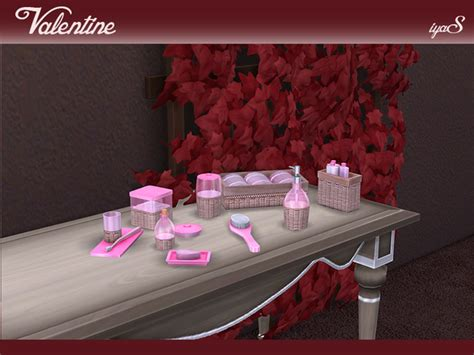 valentine bathroom decor valentine bathroom set by soloriya at tsr 187 sims 4 updates