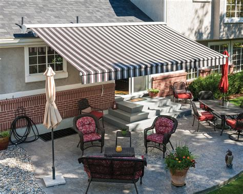 Sugarhouse Awning by Retractable Patio Awning Tv Height Bedroom