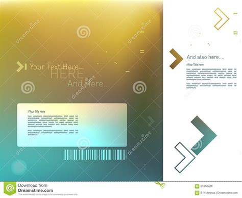motion graphic template stock vector image 61890408