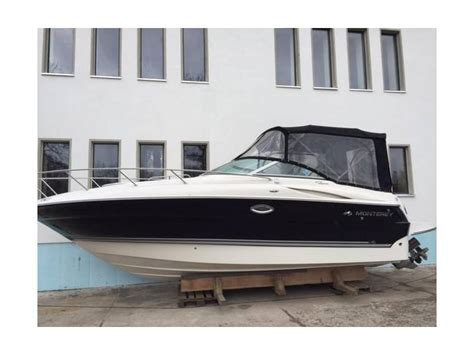 monterey diesel boats monterey cruiser 275 cr diesel in deutschland sportboote