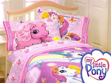 full size bedding  girls   pony bed sheet set