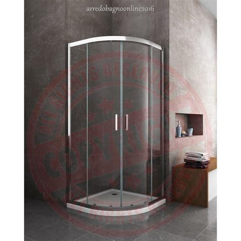 cabina doccia circolare box cabina doccia curvo circolare tondo easyclean 80x80