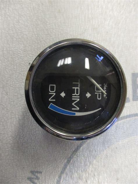 boat dash gauges gp94143 faria marine boat trim 2 quot dash gauge black white