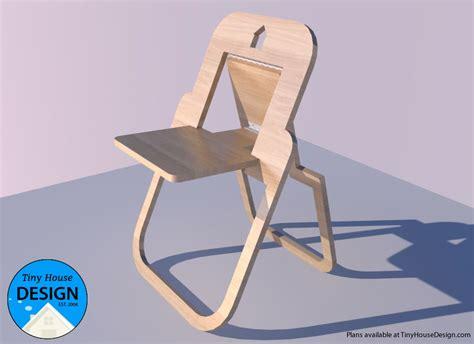 flat folding chair