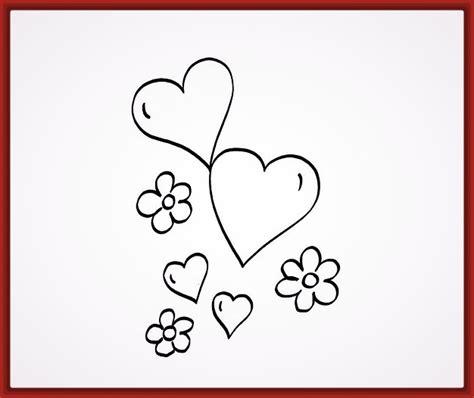 imagenes para dibujar a lapiz faciles de corazones imagenes de corazones para dibujar a lapiz faciles