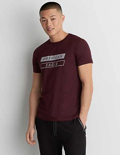 Kaos American Eagle Ae Active 360 Flex Maroon 1 maroon top american eagle outfitters
