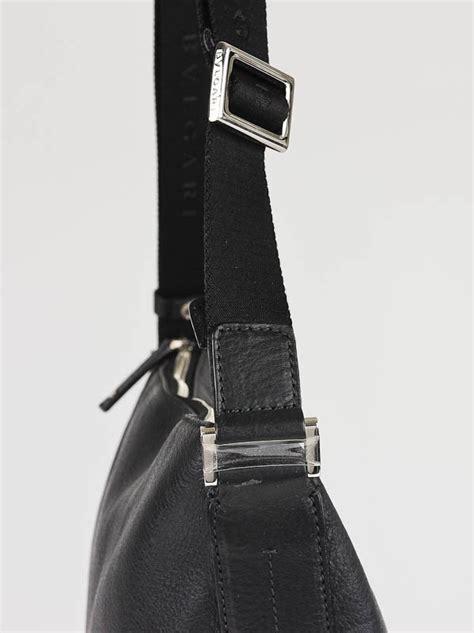 Bvlgari Skeleton Leather Black 3 bvlgari black leather large s messenger bag yoogi s closet