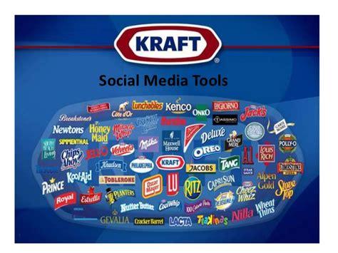 kraft foods si鑒e social kraft foods social media platforms