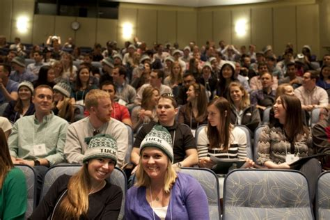 Dartmouth Tuck Mba Admissions Events by Tuck School Of Business Admitted Students Weekend