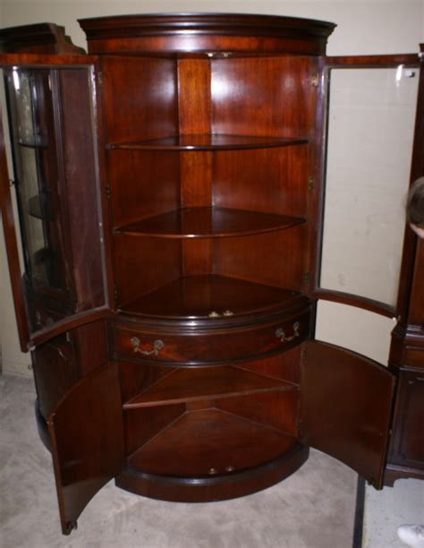 antique corner china cabinet antique corner china cabinet antique furniture