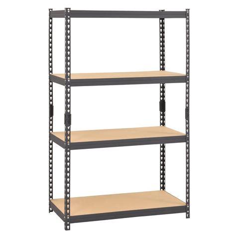 muscle rack 60 in h x 36 in w x 18 in d 4 shelf steel