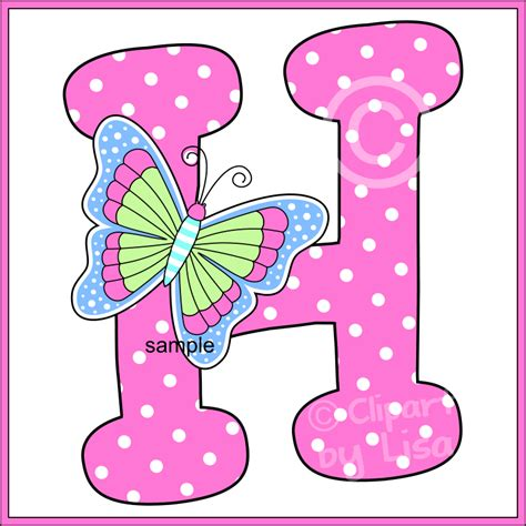 printable letters with butterflies alphabet letters clipart