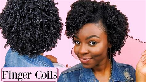 Coils Hairstyles by Finger Coil Hairstyles Hair