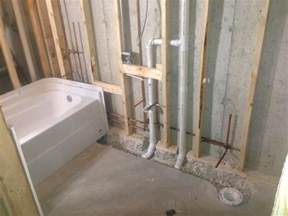 how to install bathtub plumbing bathroom plumbing repairs in new jersey