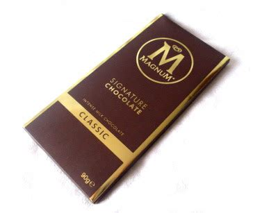 Magnum Signature Chocolate 90gr posypana cukrem magnum signature chocolate milk chocolate