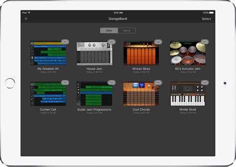 Garageband Browser Back Up Your Garageband For Ios Songs Apple Support