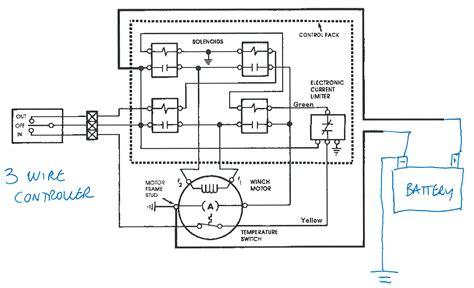 mile marker winch wiring diagram electric wiring diagram