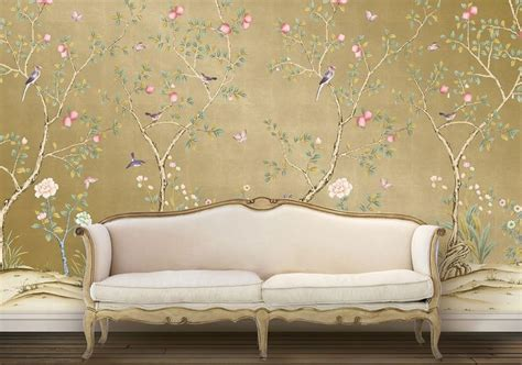 affordable removable wallpaper this chinoiserie wallpaper is temporary affordable and