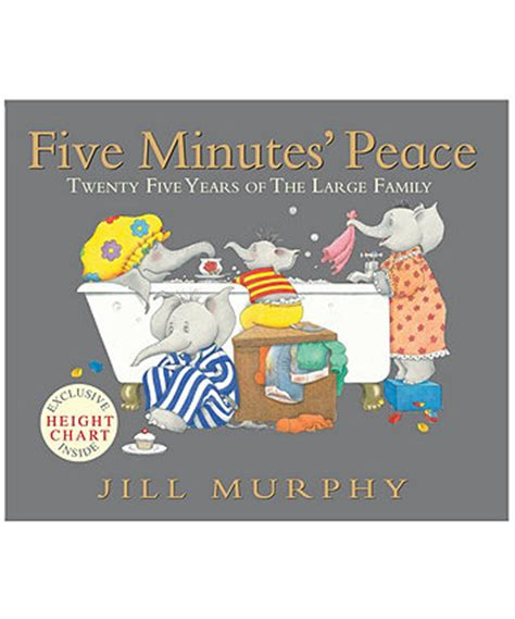 five minutes peace large five minutes peace book 25th anniversary edition children s books elc