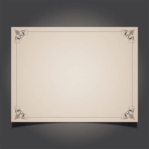 decorative card design decorative border card vector free download