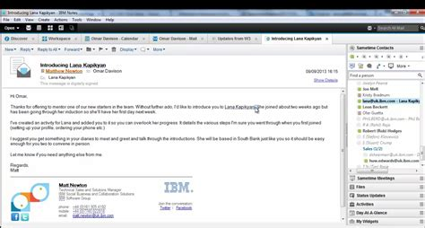 lotus application ibm notes