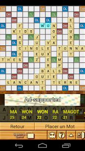 is le a word in scrabble word breaker scrabble applications android sur